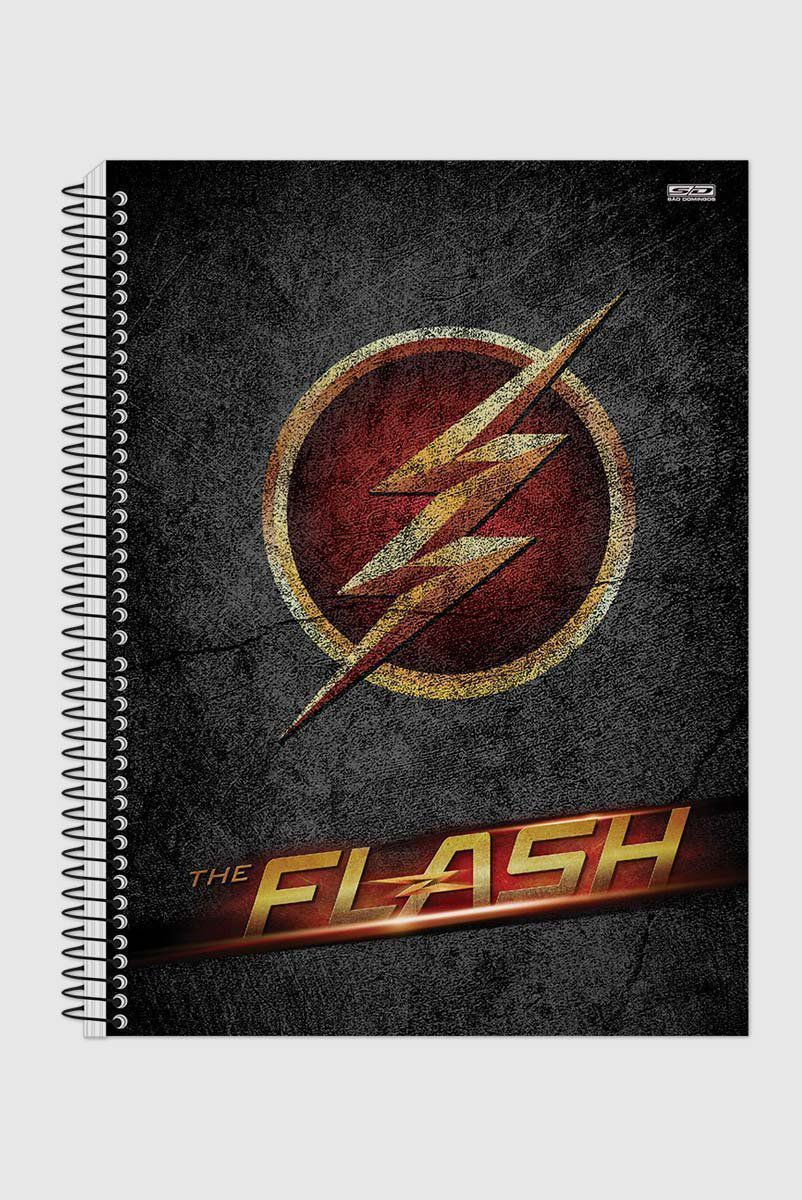 Caderno The Flash Logo Series 1 Matéria