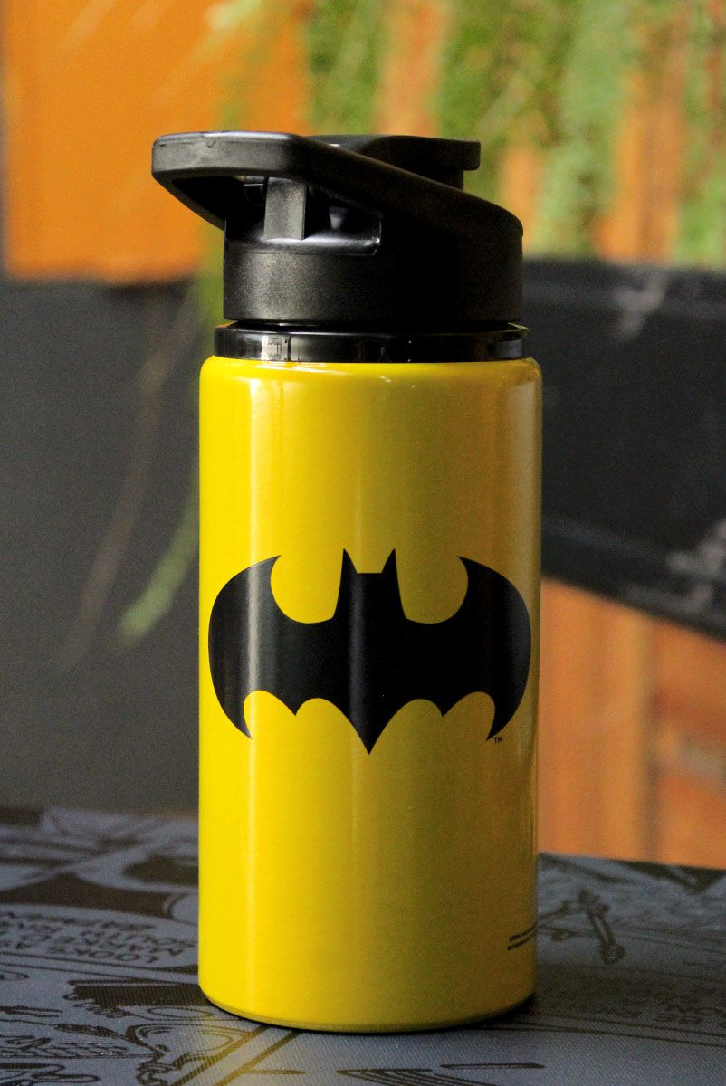 Garrafa de Alumínio Batman Logo