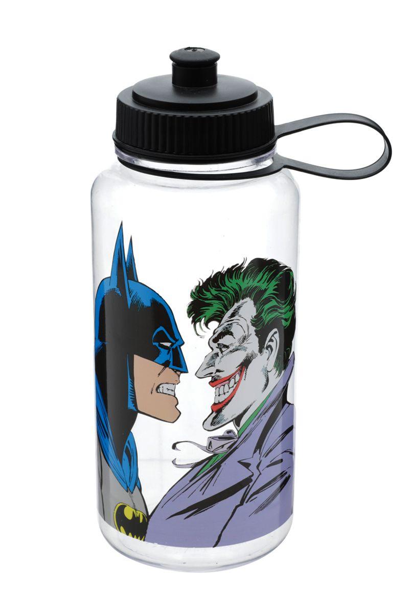 Garrafa Plástica Squeeze Batman vs Coringa
