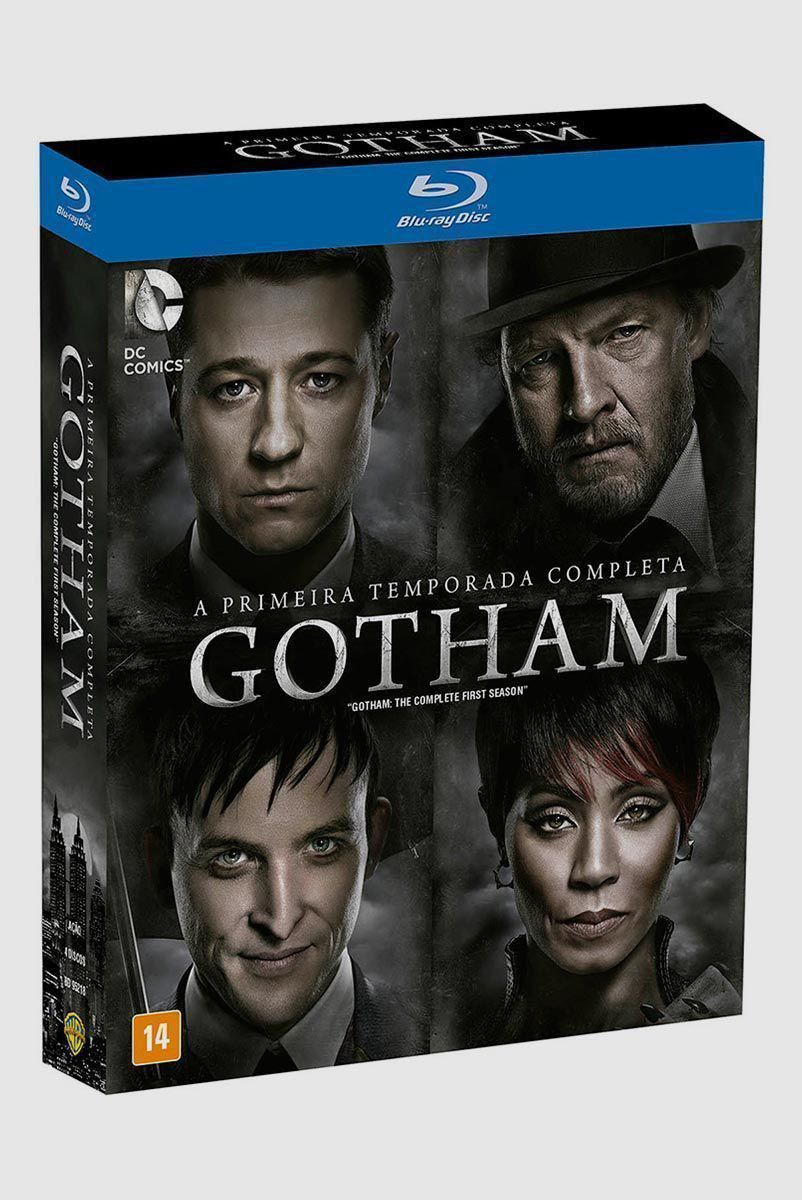 Blu-Ray BOX Gotham A Primeira Temporada Completa