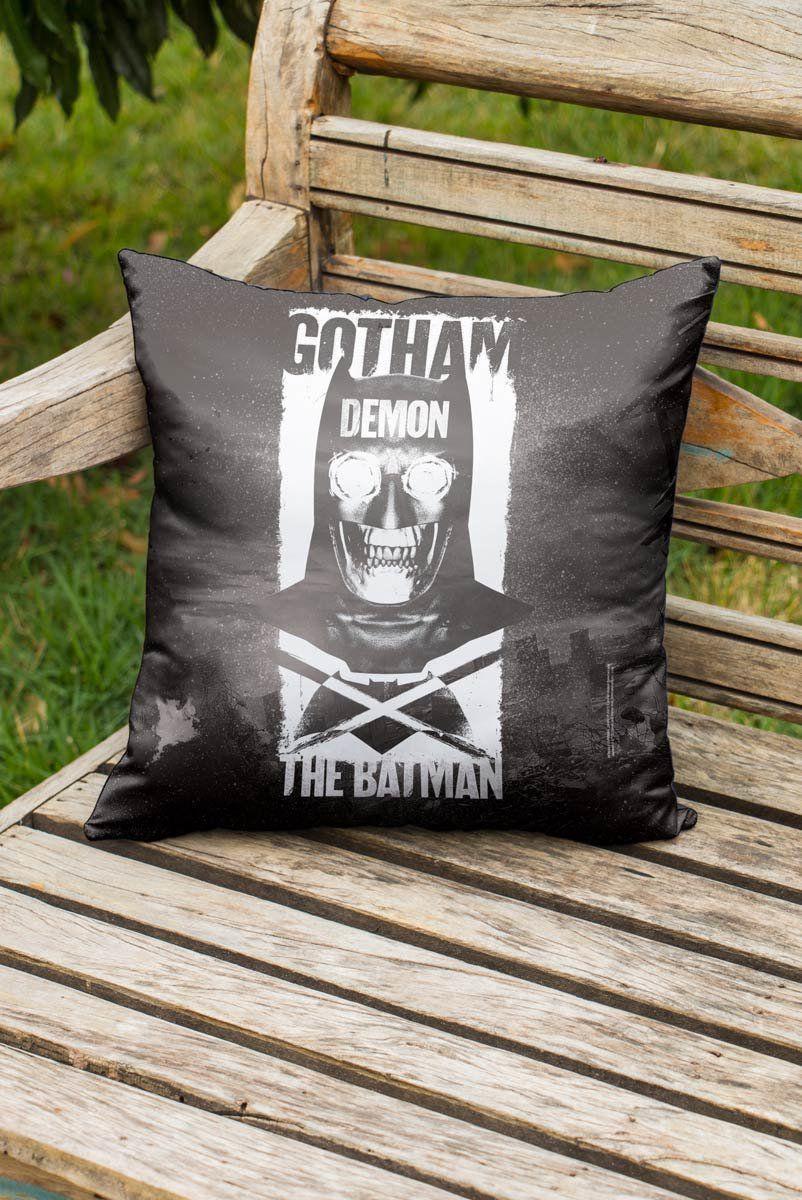 Almofada Batman VS Superman Gotham Demon