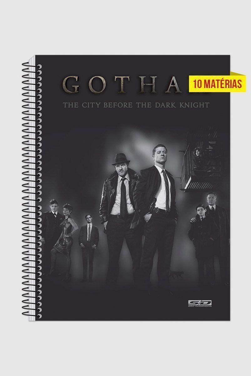 Caderno Gotham Before The Dark Knight 10 Matérias