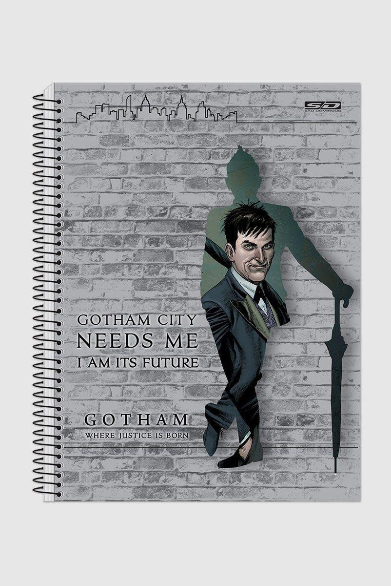 Caderno Gotham I am its Future 1 Matéria