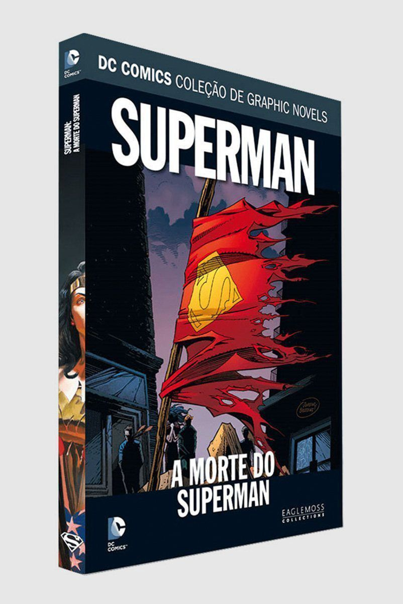 Graphic Novel A Morte do Superman ed.24