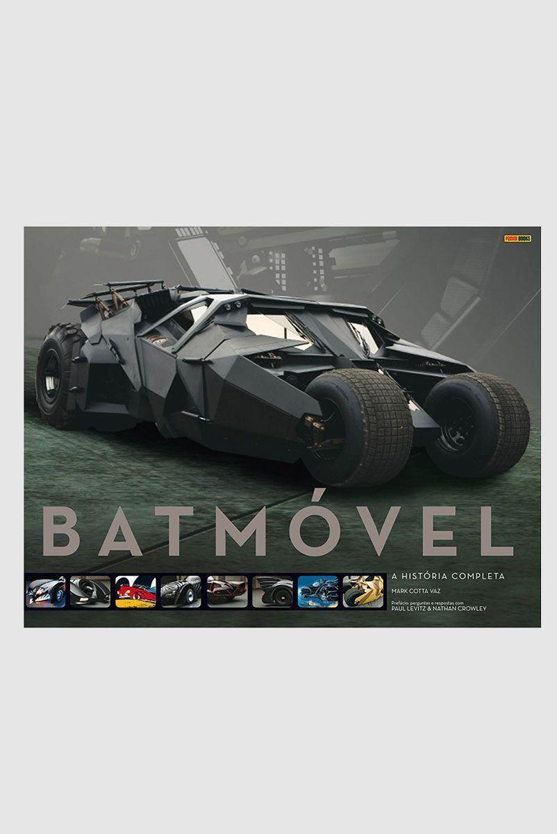 Graphic Novel Batman Batmóvel A História Completa