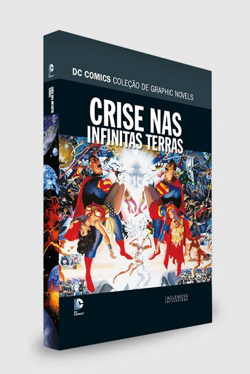 Graphic Novel Crise nas Infinitas Terras