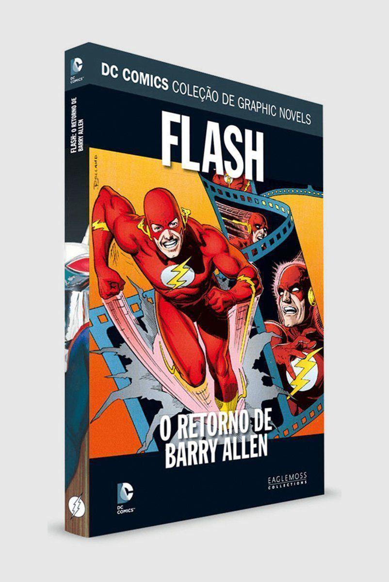 Graphic Novel Flash: O Retorno de Barry Allen ed. 50