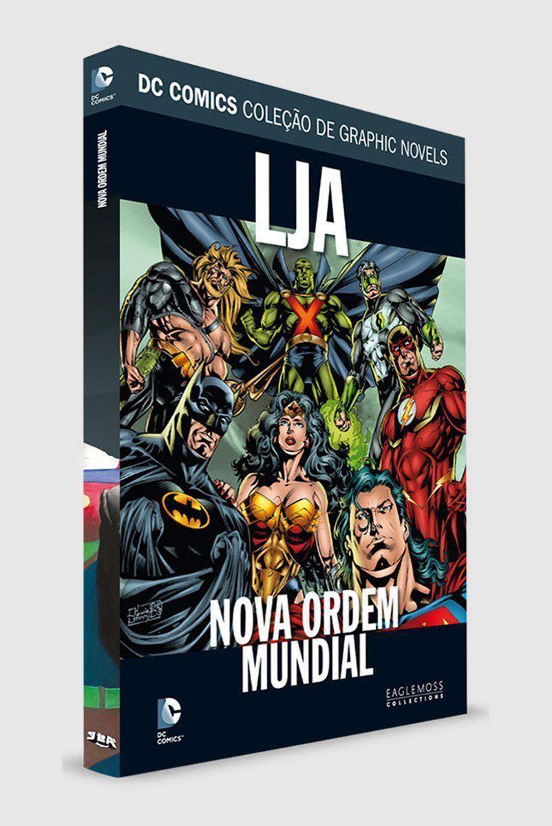 Graphic Novel Liga da Justiça: Nova Ordem Mundial ed. 55
