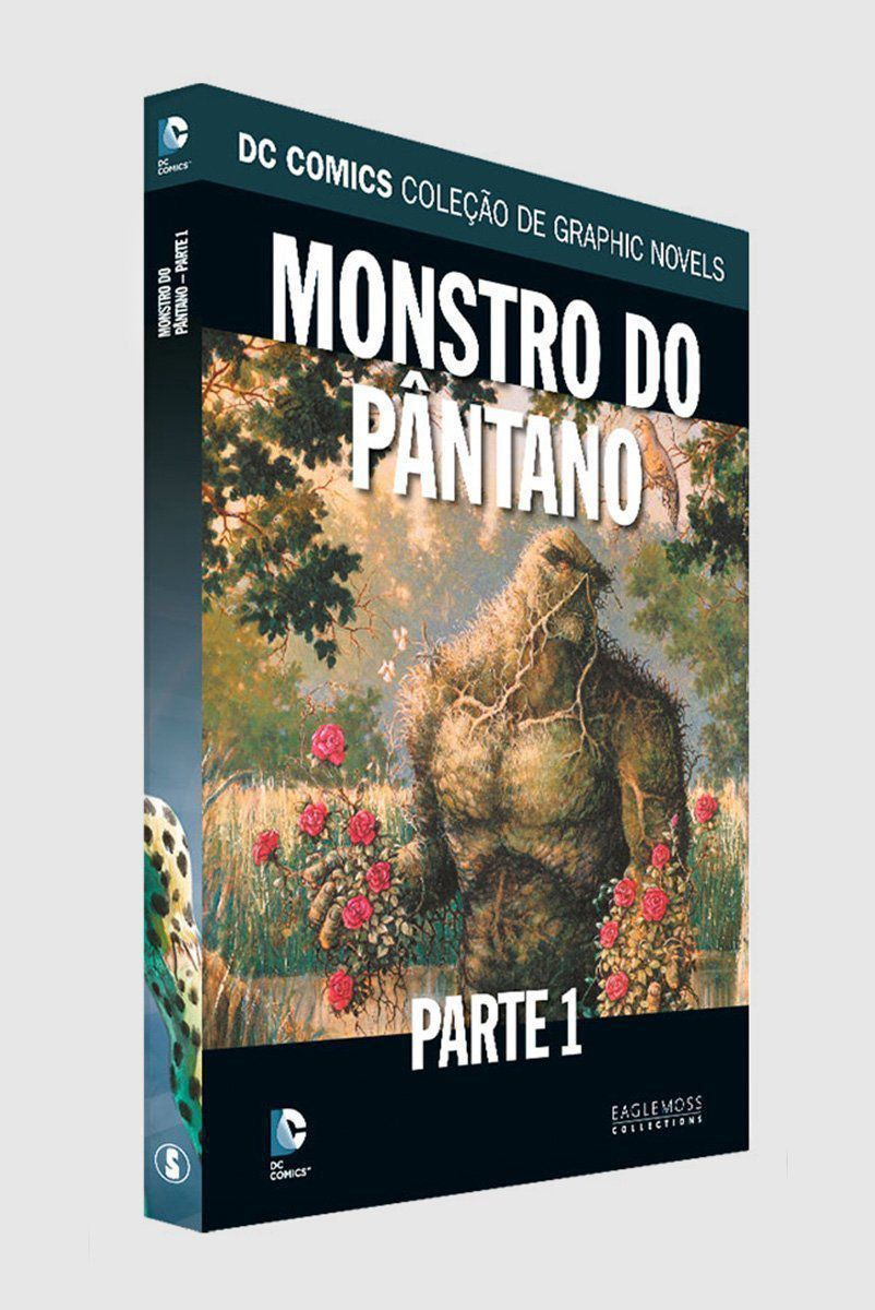 Graphic Novel Monstro do Pântano - Parte 1 ed. 66