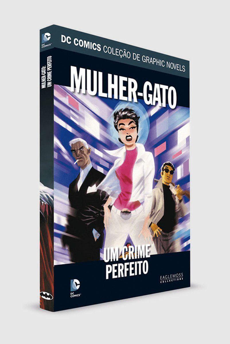 Graphic Novel Mulher-Gato: Um Crime Perfeito