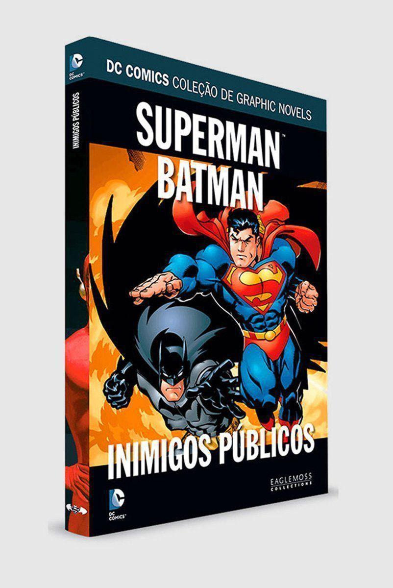 Graphic Novel Superman/Batman: Inimigos Públicos