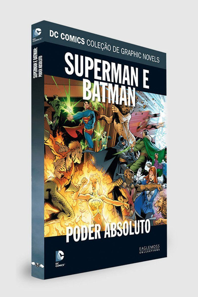 Graphic Novel Superman/Batman: Poder Absoluto