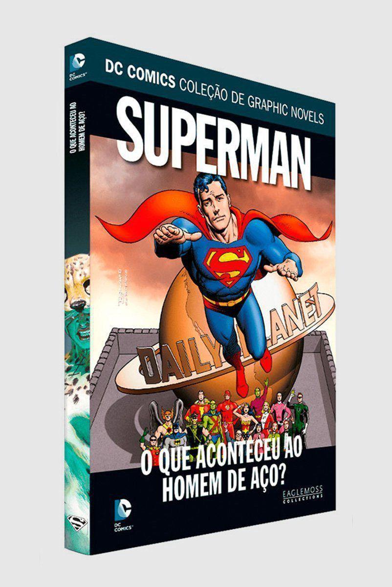 Graphic Novel Superman: O Que Aconteceu ao Homem de Aço? ed. 63