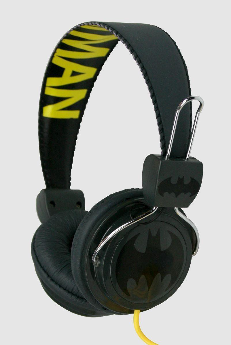Fone de Ouvido Batman Logo