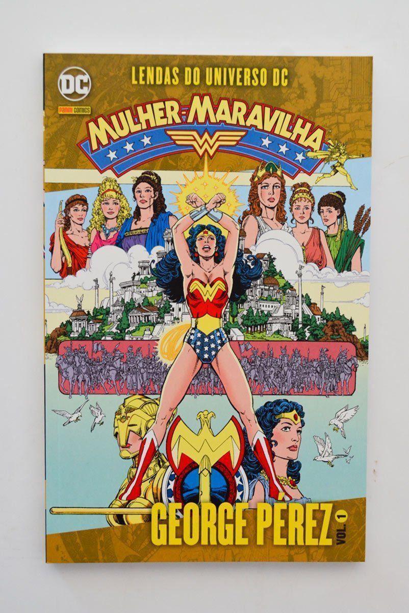 HQ Lendas do Universo DC: Mulher Maravilha