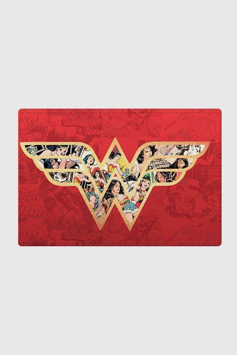 Jogo Americano de Plástico com 2 Peças Wonder Woman Movie Logo With