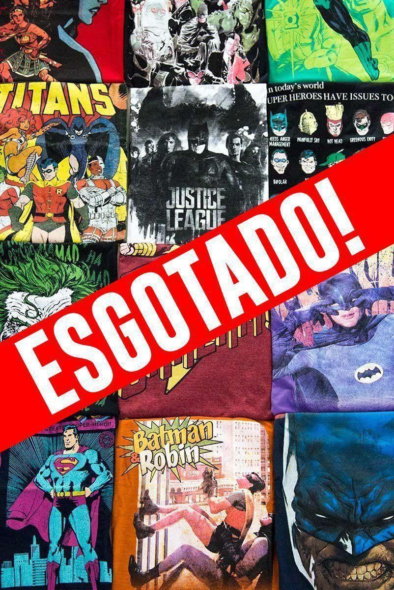Kit 2 Camisetas SURPRESA DC Comics