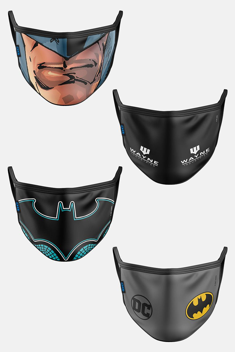 Kit com 4 Máscaras Batman