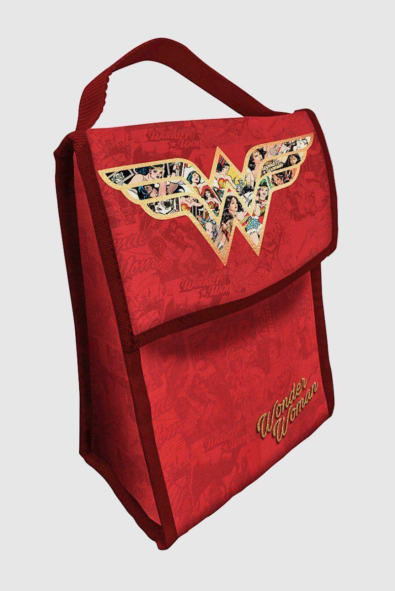 Lancheira de Poliéster Wonder Woman Logo