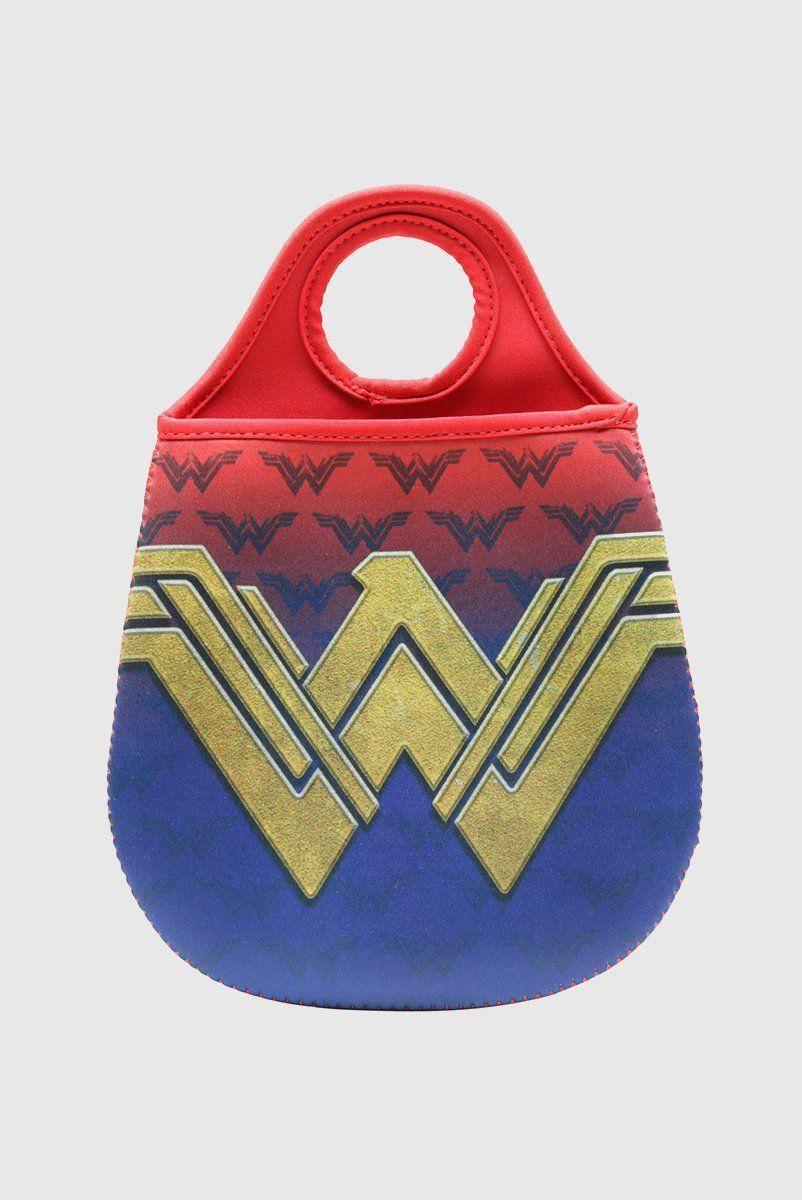 Lixeira Para Carro DC Mulher Maravilha Fancy Logo