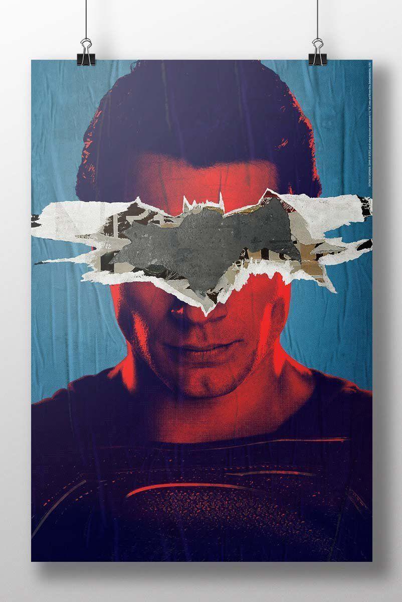 Pôster Batman VS Superman Man VS God