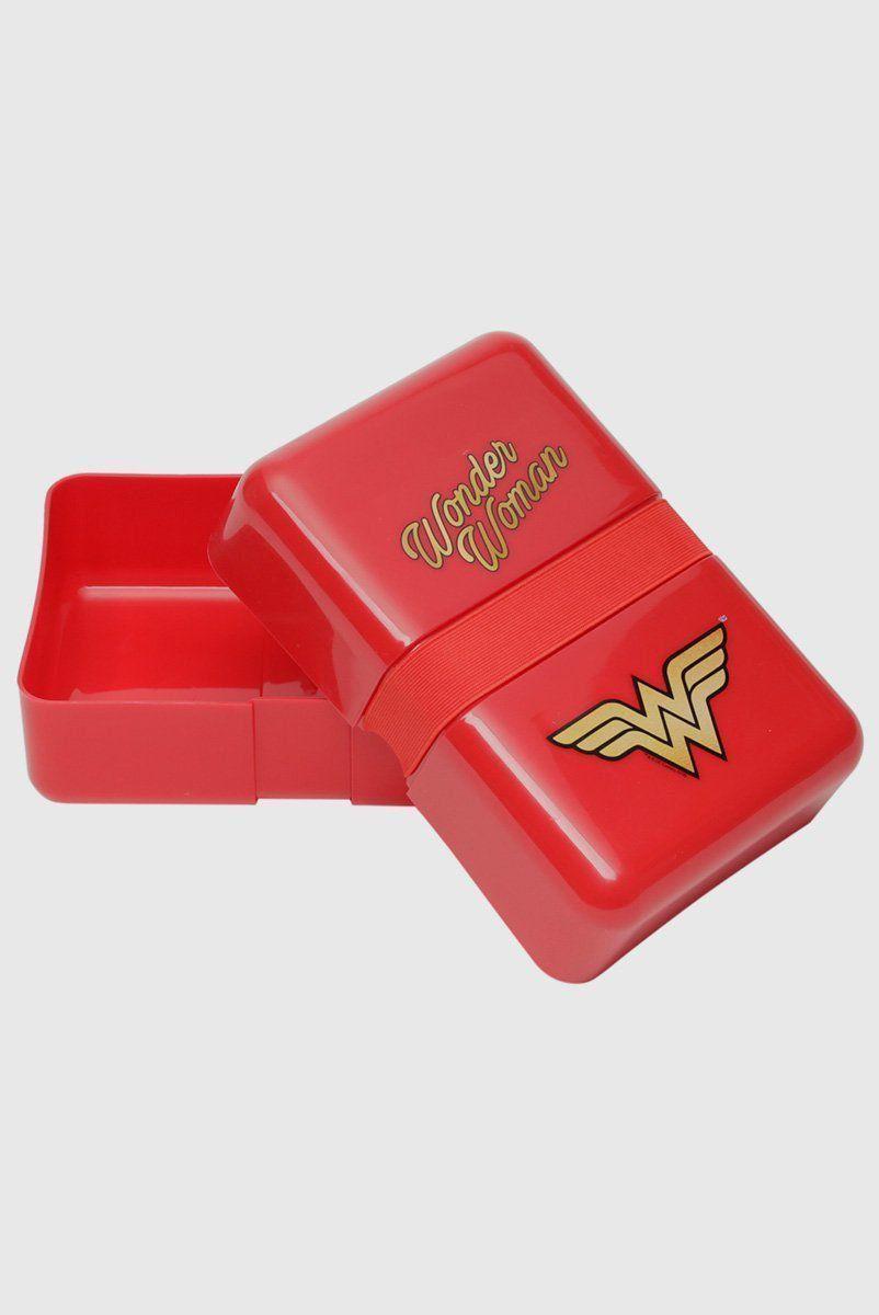 Marmita Fit de Plástico Wonder Woman Movie Classic Logo