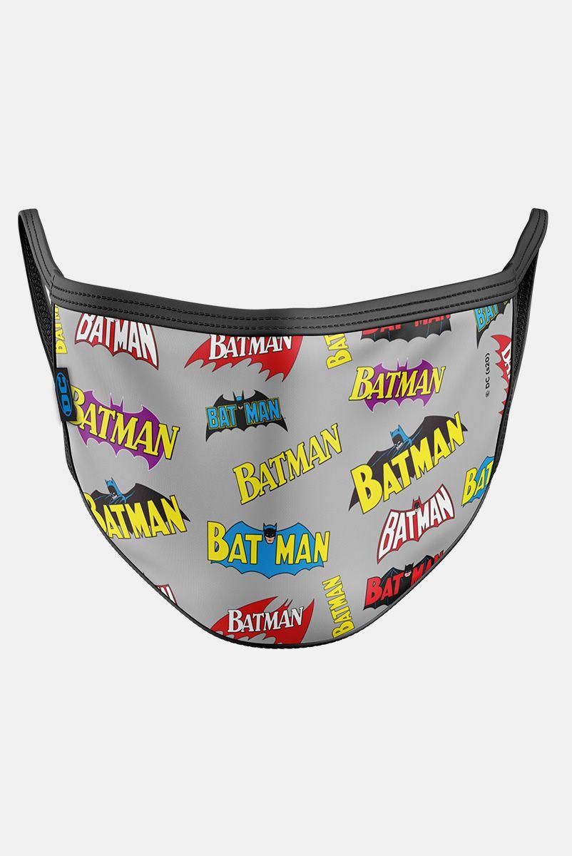NÃO ATIVAR Máscara Batman Logo Vintage