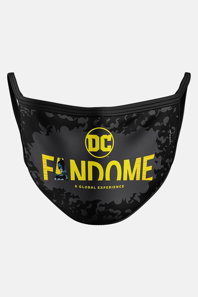 Máscara Fandome Logo Batman