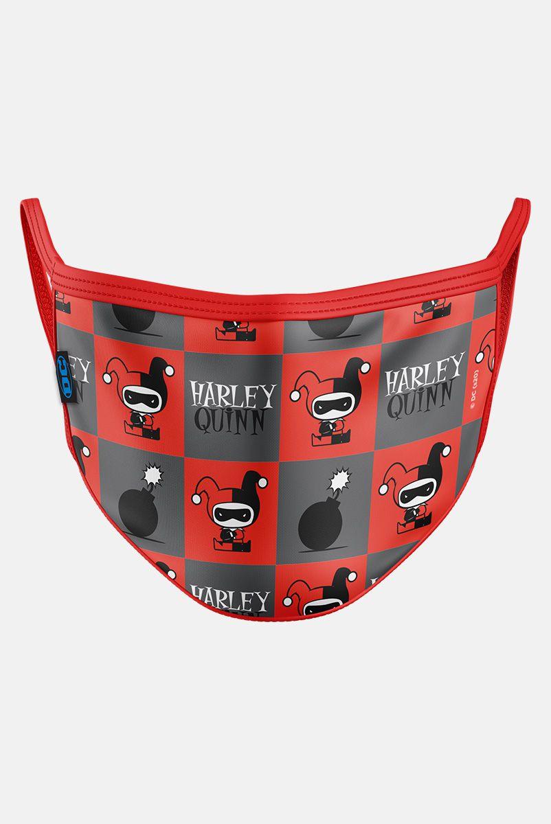 Máscara Harley Quinn Bomba