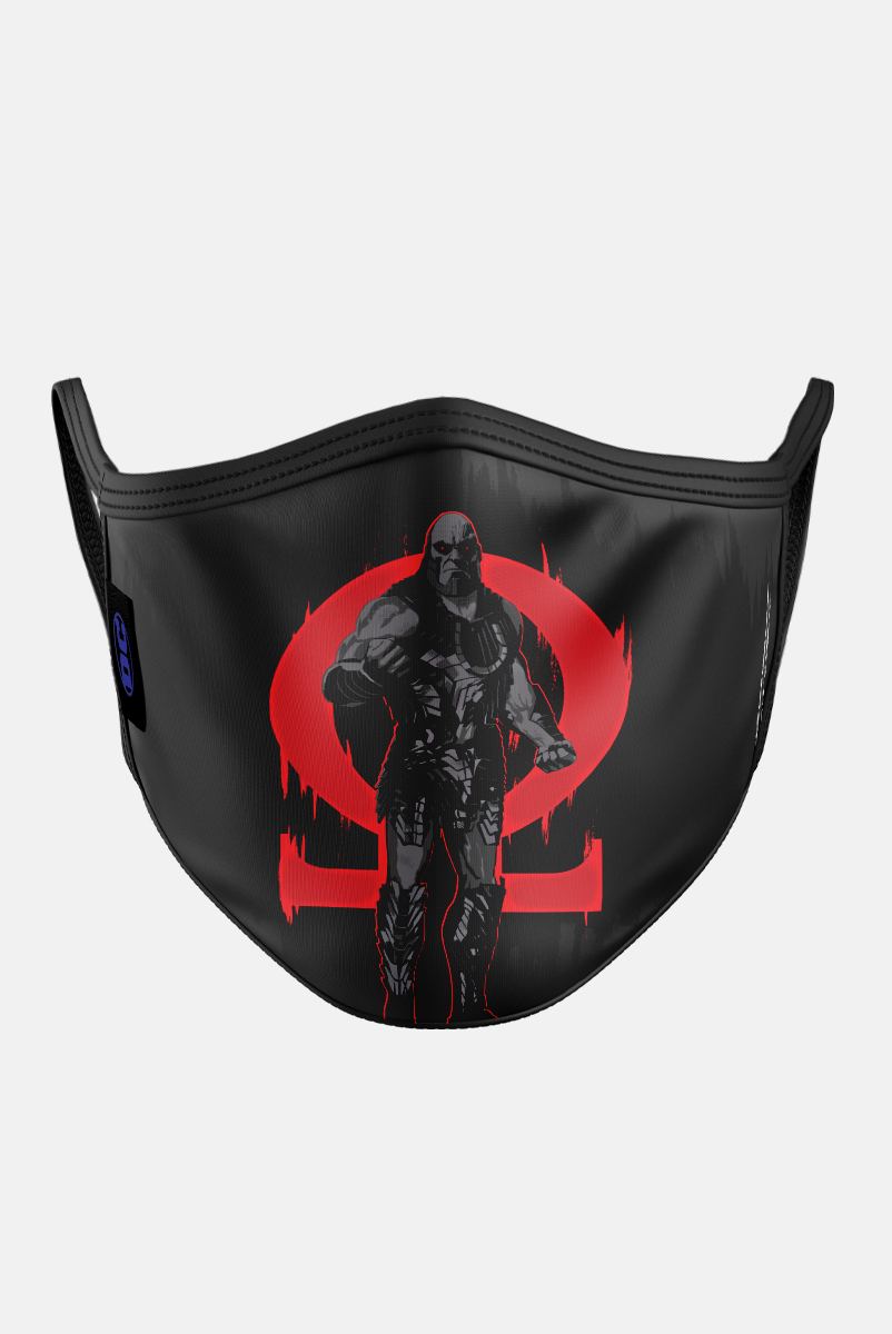 Máscara Liga da Justiça Darkseid Pose