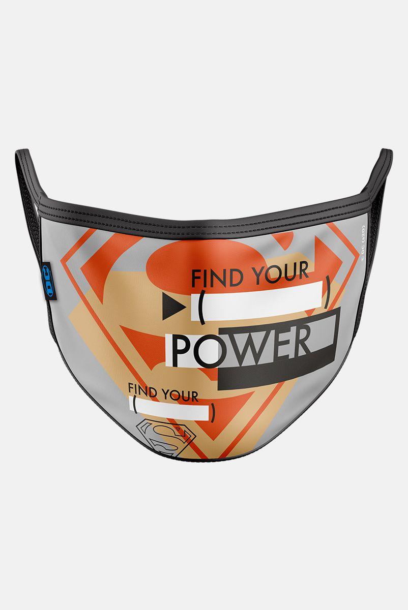 Máscara Superman Find Your Power