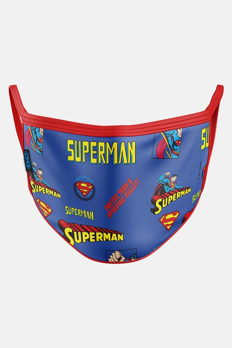 NÃO ATIVAR Máscara Superman Mini