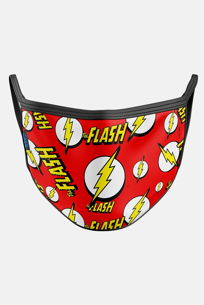 Máscara The Flash Logo Pattern