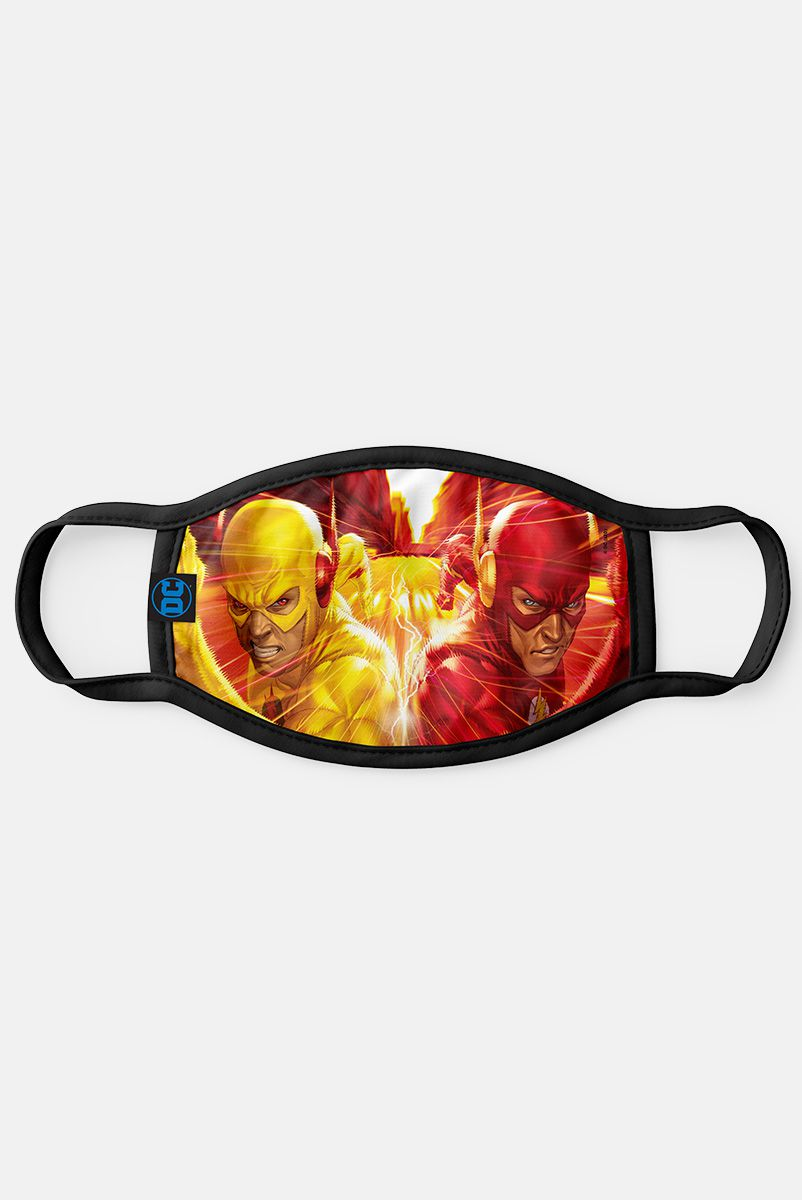 Máscara The Flash VS The Flash Reverso