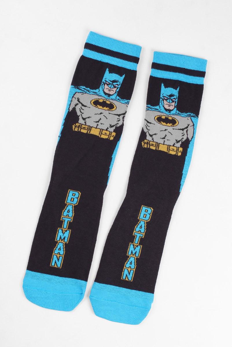 Meia Cano Alto Eu Sou o Batman