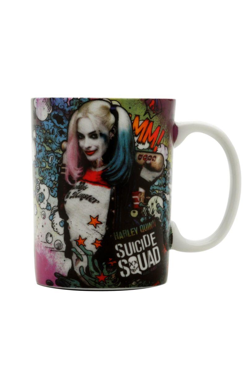 Mini Caneca Esquadrão Suicida Harley Quinn