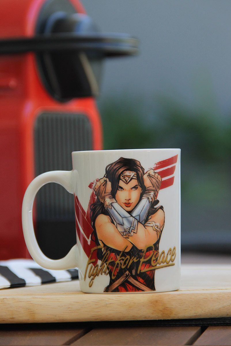 Mini Caneca Wonder Woman Movie Fighter