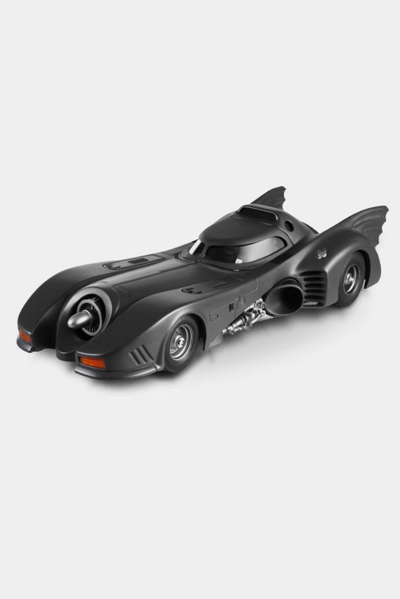 Miniatura Batmóvel Batman Returns 1989 (Michael Keaton) Hot Wheels 1:24