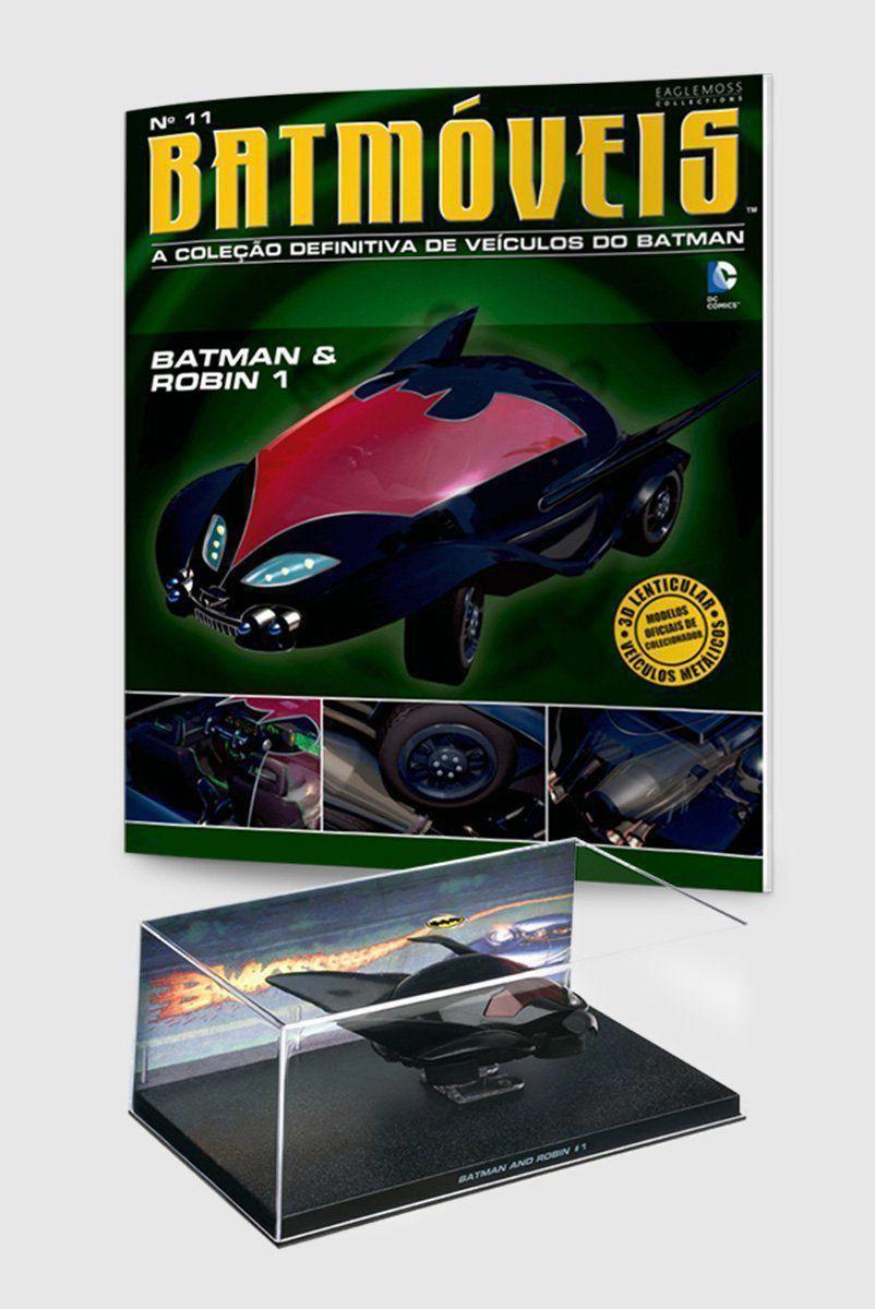 Miniatura Batmóvel ed.11 - Batman & Robin #1 + Revista