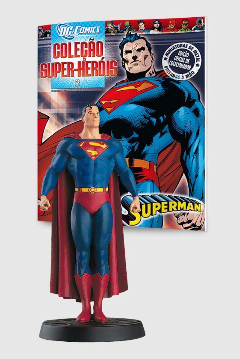 Miniatura Boneco Superman ed.2 + Revista