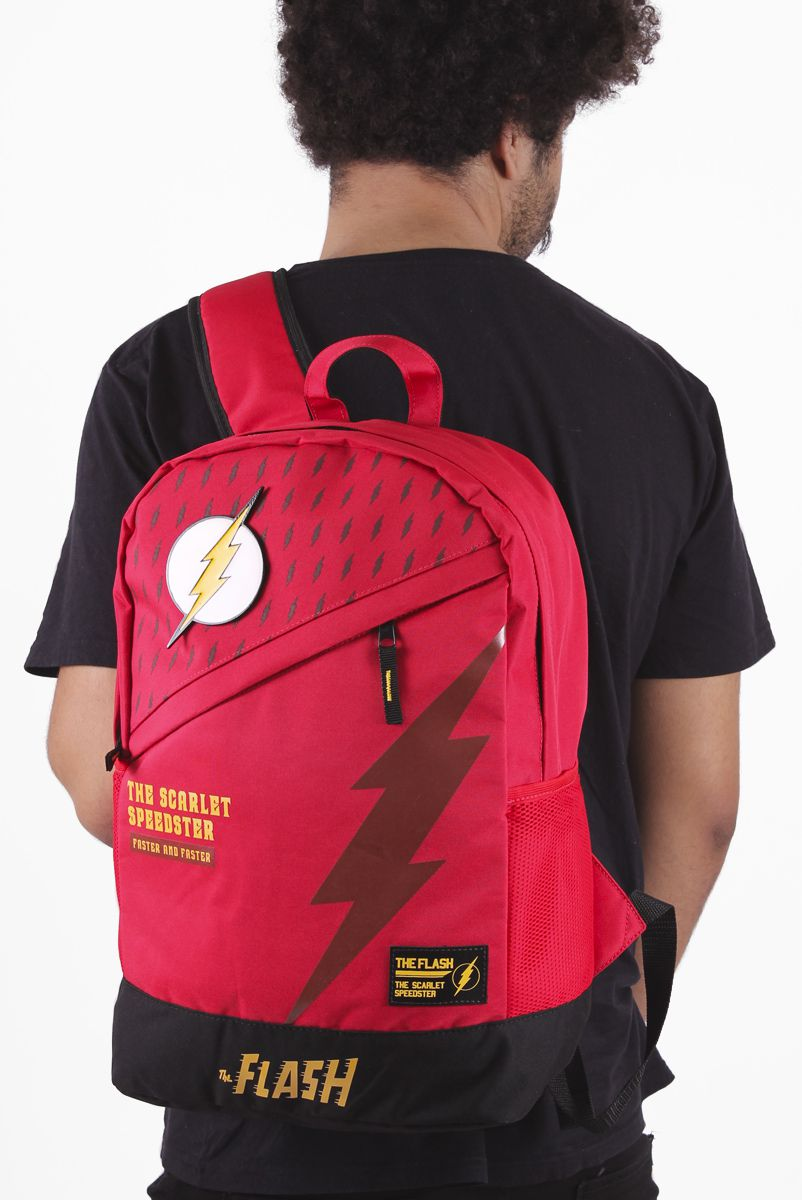 Mochila The Flash Scarlet Speedster