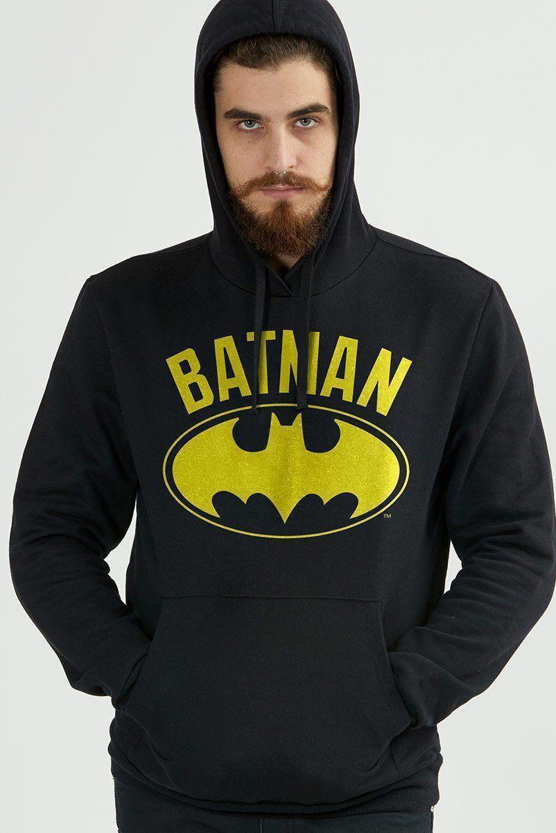 Moletom Batman Logo Clássico