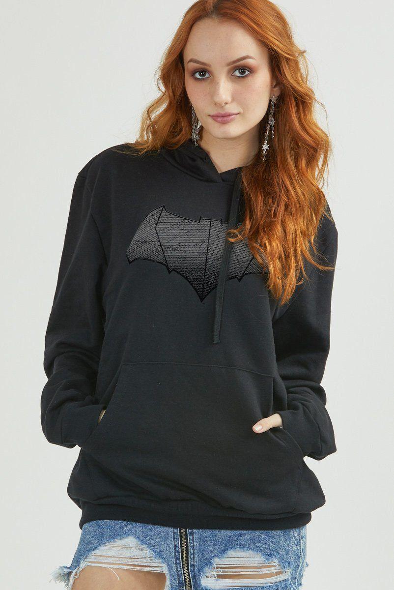 Moletom Feminino Batman Shield
