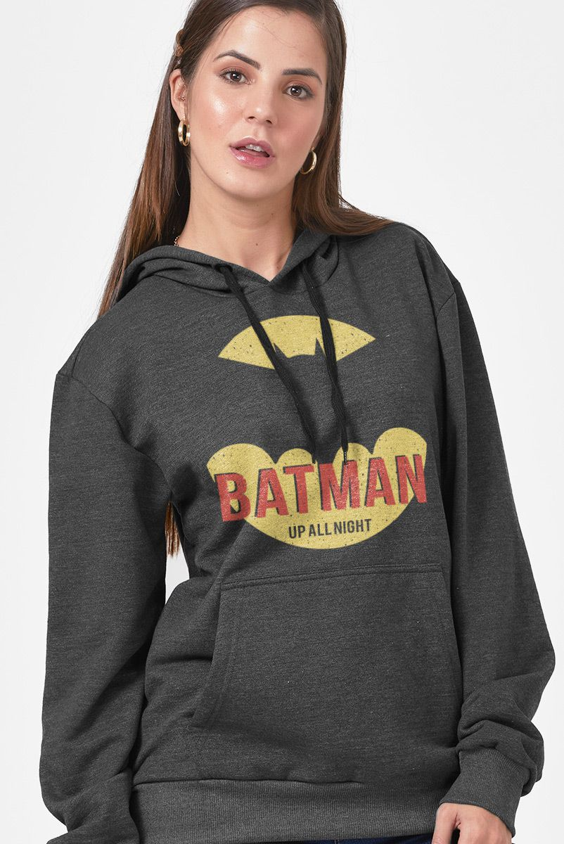 Moletom Feminino Batman Up All Night