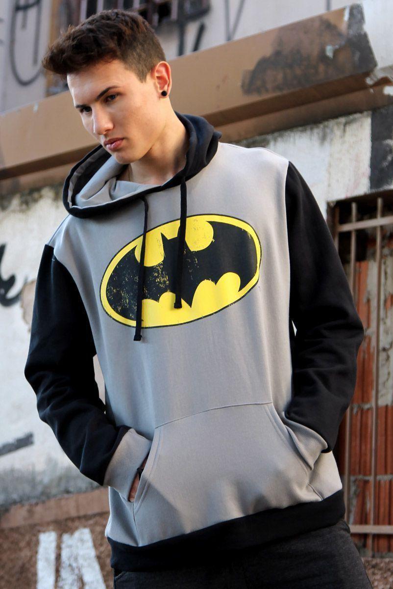 Moletom Masculino Batman Logo