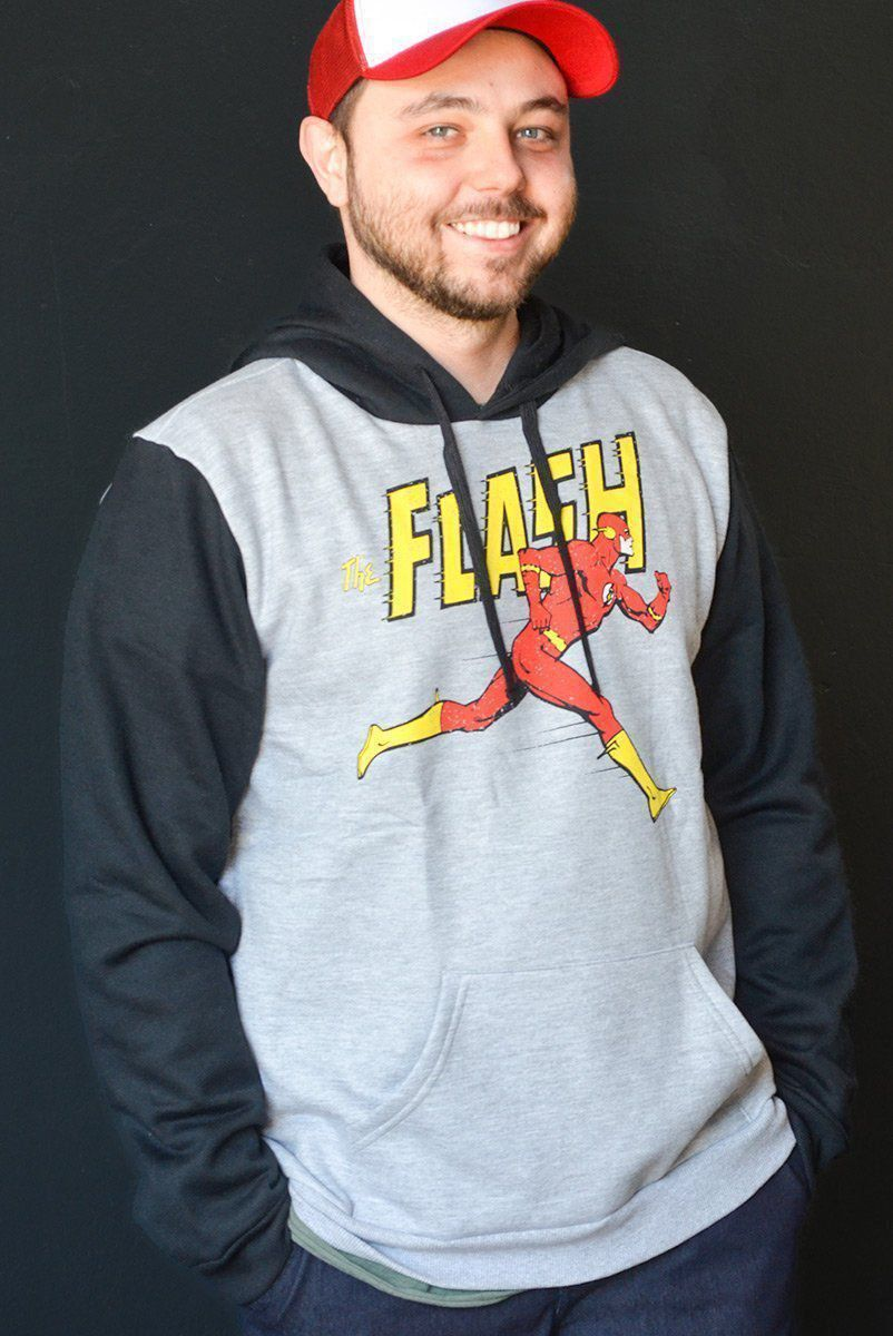Moletom Bicolor The Flash Running