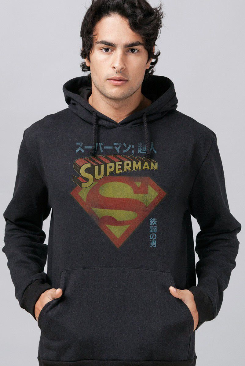 Moletom Superman Japanese
