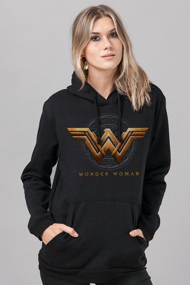 Moletom Wonder Woman Movie Logo