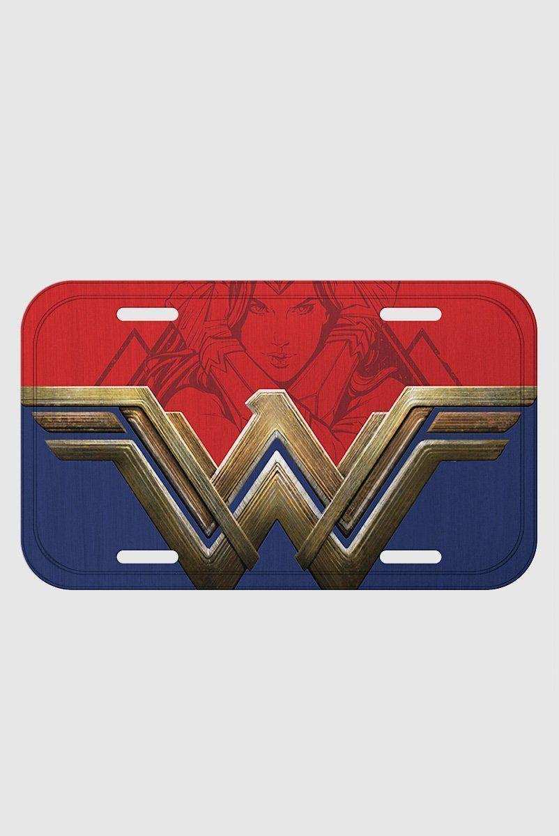 Placa de Parede Wonder Woman Movie Fancy Logo