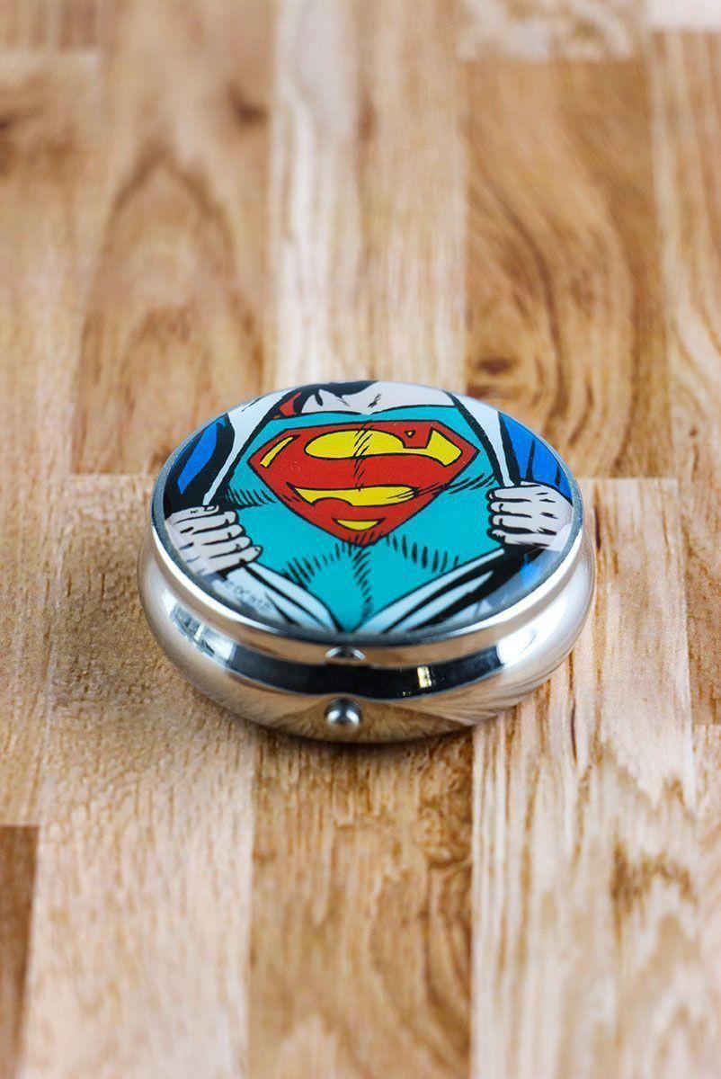Porta Comprimidos Clark Kent Superman